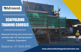 Scaffolding Training Courses