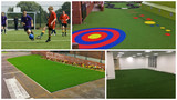 Installation Photos of Synthetic Turf Management