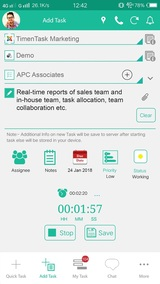 New Album of TimenTask - Time Tracking Software for Employees