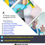 House Cleaning | Romus Cleaning Services Adelaide