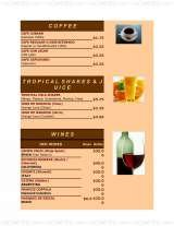 Pricelists of Mi Habana Cafe Cuban Restaurant