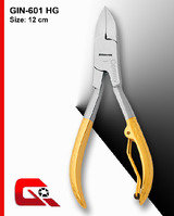 Manufacturers and Exporters of All kinds of Wire Spring Nail Nipper, Wire Spring Nail Nipper Plain Handle, Textured Handle, Flutted Handle, Grooved Handle, Half Gold Plated Handle, Shine Finish, Satin Finish, Sand Finish, Titanium Plasma Coated, Blue Plasma Coated, Full Gold Plated etc., Sialkot