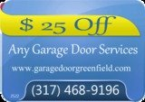 Pricelists of Garage Door Greenfield