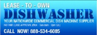 Lease To Own Dish Washer