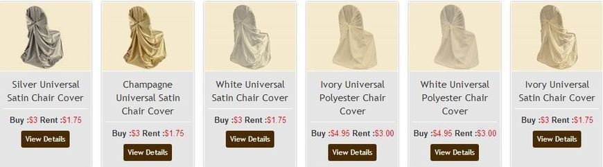 Swell 2 Of 3 Price Lists Menus Simply Elegant Chair Covers Machost Co Dining Chair Design Ideas Machostcouk