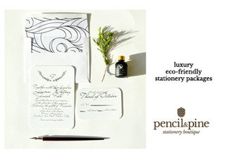 Pencil and Pine (Eco friendly wedding invitations and stationery)
