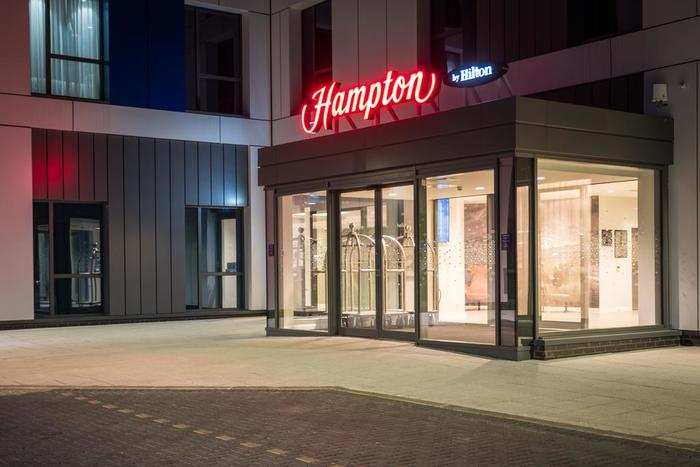 Hotel Interior of Hampton by Hilton Aberdeen Airport Harvest Way, Dyce - Photo 1 of 6