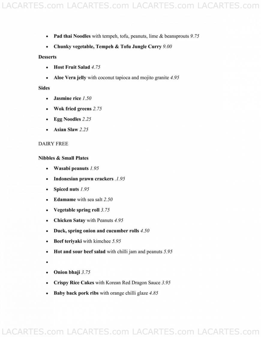 Host Liverpool Price Lists Page 6 of 9 