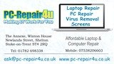 pc-repair4u, stoke-on-trent