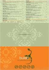 Pricelists of Bulan Thai Vegetarian Kitchen