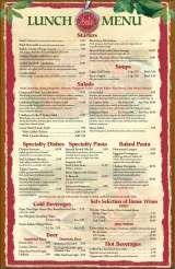 Menus & Prices, Sal's Italian Ristorante - Palm Beach, FL, Palm Beach