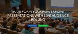 New Album of iVote-App Live Audience Polling Solutions