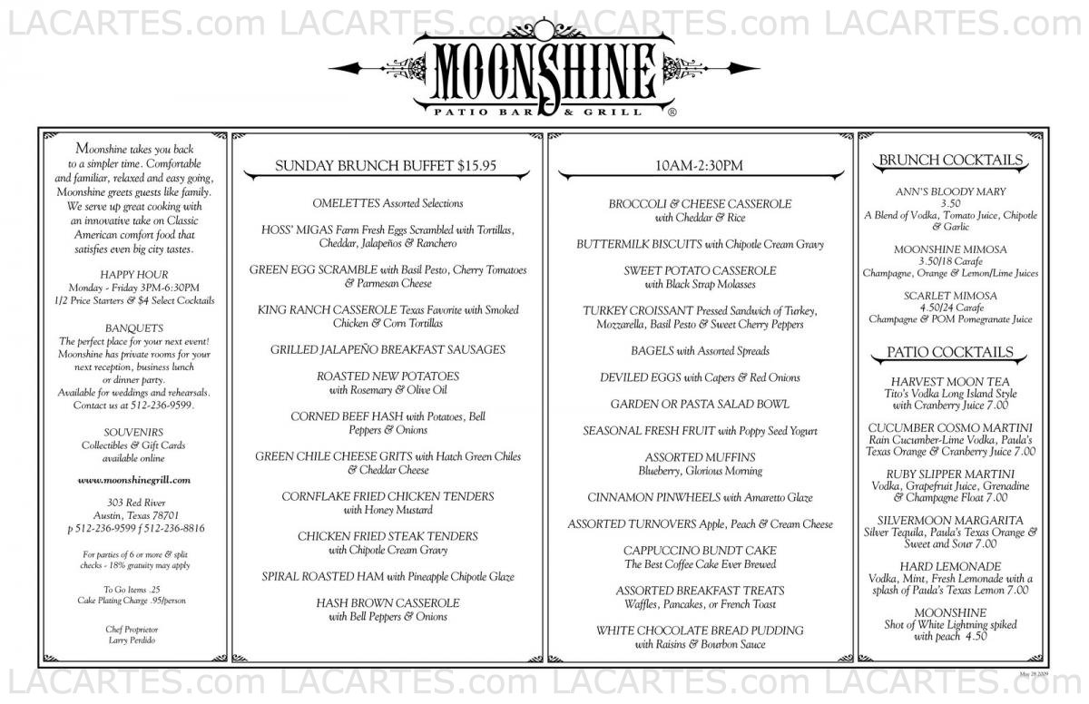 u0027craig moonshine patio bar and grill by restaurants st