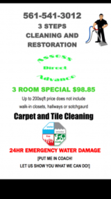 Profile Photos of 3 Steps Cleaning and Restoration LLC.. CARPET TILE GROUT UPHOLSTERY CL