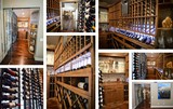 Transitional Style Custom Wine Cellar in Aliso Viejo, Southern California
