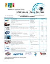 Pricelists of English Language School of Cape Town