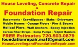 House Leveling and Foundation Repair LLC 1050 Hooker Street