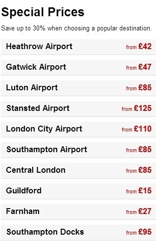 Pricelists of Godalming Taxis - Call Now 01483 377377 for Taxi Godalming Godalming Business Centre,Woolsack Way - Photo 1 of 1