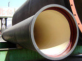 Profile Photos of Ductile Cast Iron pipes and fittings