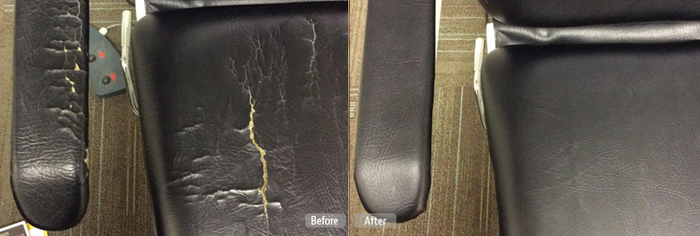 Leather Repair Services in Garland, TX of Fibrenew Garland 1 Mobile Service - Photo 17 of 17