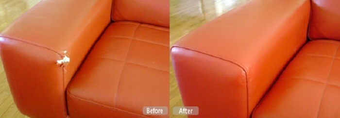 Leather Repair Services in West Des Moines, IA of Fibrenew West Des Moines 1 Mobile Service - Photo 18 of 20