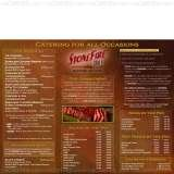 Menus & Prices, Stonefire Grill, Chatsworth