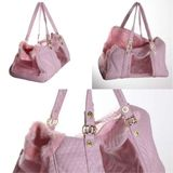 Pink Quilt Dogs Travel Bags