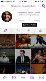 Profile Photos of Pegg'd - Social Event Calendar App