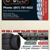 Rosemont Tire Shop - Tire Shop in Des Plaines