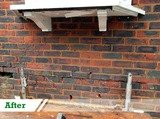 brick work paint removal