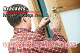 Garage Brackets Cypress Garage Door Repair Services 9091 Holder St