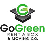 Logo Go Green Rent A Box & Moving Co. 5000 Monument Ave #101,