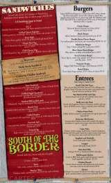 Pricelists of The Beach Club - Sports Bar & Grill