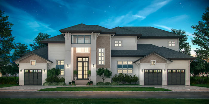 Home exterior 3d rendering New Album of BluentCad 10685-B Hazelhurst Drive Suite 15071 - Photo 3 of 7