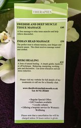 Menus & Prices, Helen Kremer-Williams. The Olive Branch plymouth, Plymouth