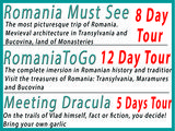 Pricelists of RomaniaToGo Private Tours