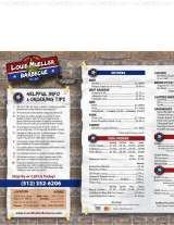 Pricelists of Louie Mueller Barbecue