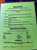 Pricelists of El Meson Burleson Lamar