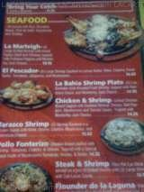 Pricelists of Los Comales Mexican Restaurant Austin
