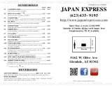 Pricelists of Japan Express