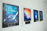 Best dentists award display at Lorton dentist Lorton Town Dental Lorton Town Dental 9010 Lorton Station Blvd Suite 135