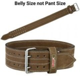 weight lifting belt for back support