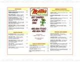 Pricelists of Mattas Mexican Grill
