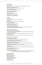 Pricelists of Roaring Fork Wood Fire Cooking & American Cuisine Austin