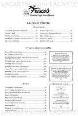 Menus & Prices, Del Frisco's Double Eagle Steakhouse Fort Worth, Fort Worth