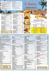 Pricelists of Ciboney Cuban Restaurant - FL