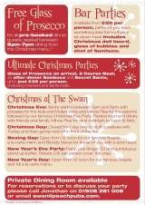Pricelists of The Swan