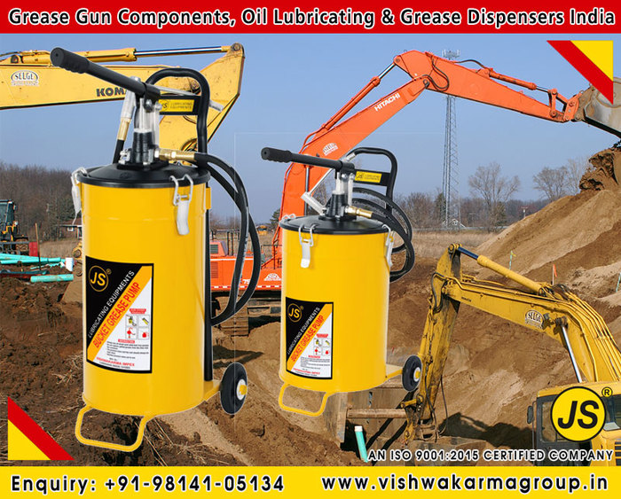 Bucket Grease Dispensers manufacturers exporters suppliers in India +91-9814105134 https://www.vishwakarmagroup.in<br />  New Album of Grease Gun Components, Grease & Oil Dispensers, Bucket Grease Pumps +9 7919/1, St. No: 2, Ranjit Nagar, Behind A.T.I. - Photo 13 of 25
