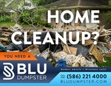 Dumpster Rental for Home Cleanout