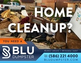 Dumpster Rental for House Cleanout